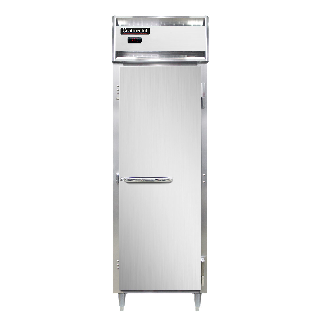 Continental Refrigerator DL1W-SA heated cabinet, reach-in