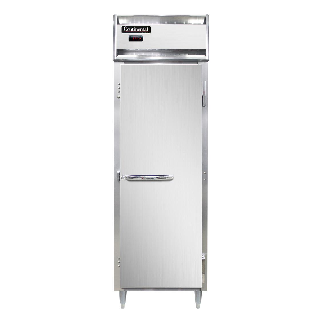 Continental Refrigerator DL1W-SS-PT heated cabinet, pass-thru