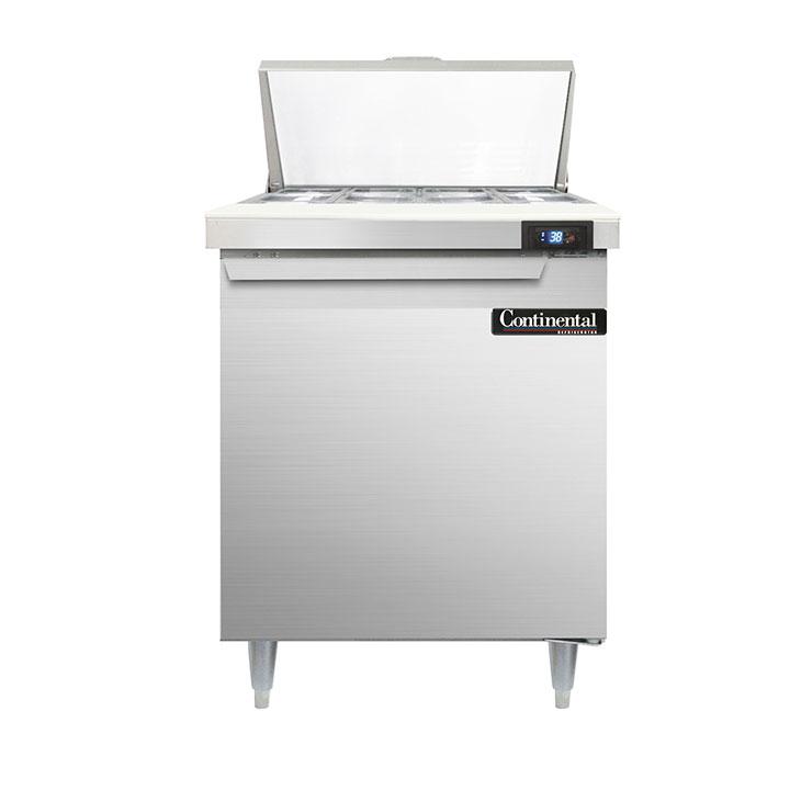 Continental Refrigerator D27N8 refrigerated counter, sandwich / salad unit