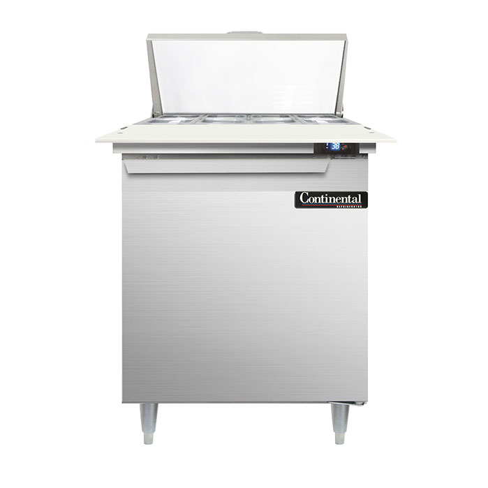 Continental Refrigerator DL27-8C refrigerated counter, sandwich / salad unit