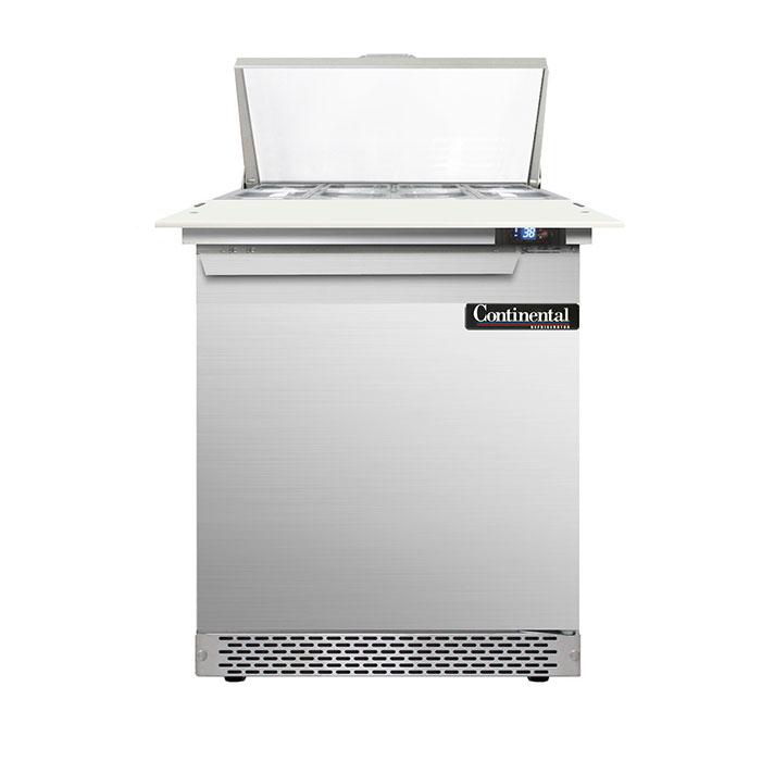 Continental Refrigerator DL27-8C-FB refrigerated counter, sandwich / salad unit