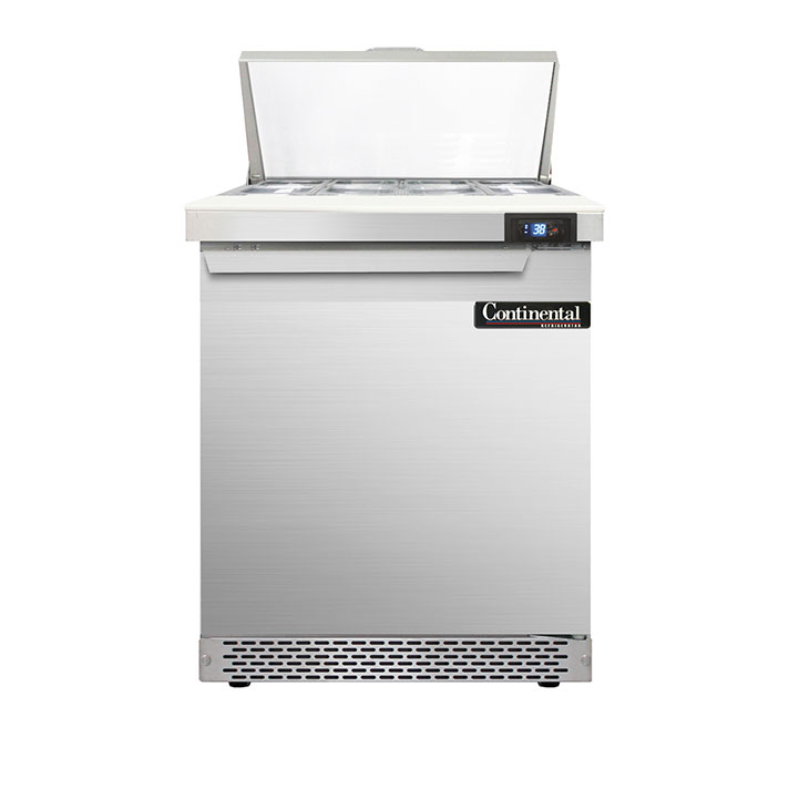 Continental Refrigerator D27N8-FB refrigerated counter, sandwich / salad unit