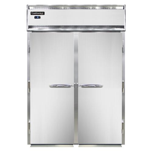 Continental Refrigerator DL2FI-SS-E freezer, roll-in