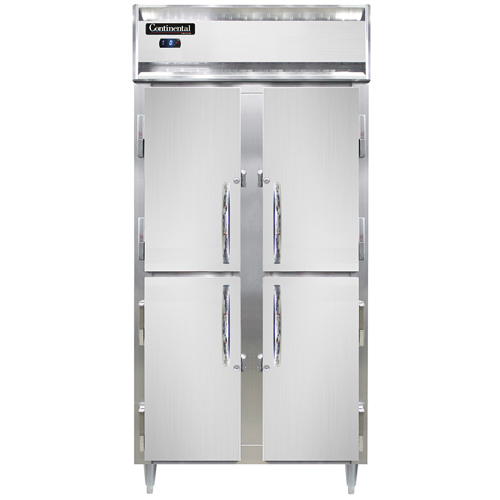 Continental Refrigerator DL2FSE-SA-HD freezer, reach-in