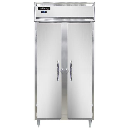 Continental Refrigerator D2FSENSS freezer, reach-in