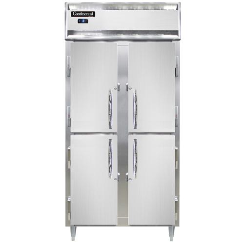 Continental Refrigerator D2FSENSSHD freezer, reach-in