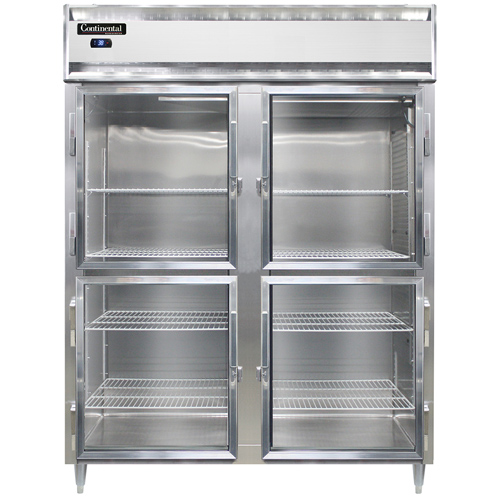 Continental Refrigerator DL2RES-SA-GD-HD refrigerator, reach-in