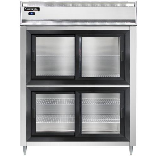 Continental Refrigerator D2RESNSSSGDHD refrigerator, reach-in