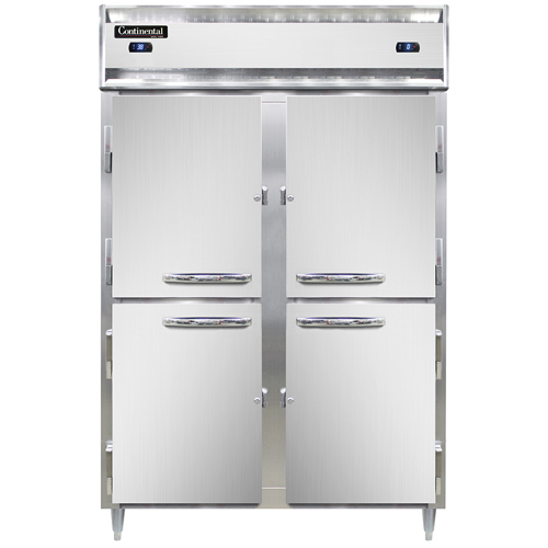 Continental Refrigerator DL2RF-SA-HD refrigerator freezer, reach-in