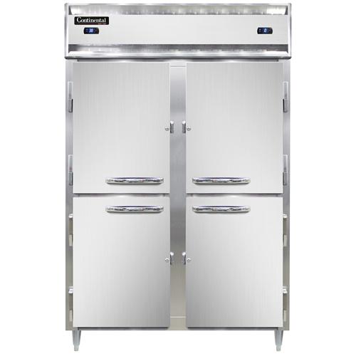 Continental Refrigerator DL2RF-SS-HD refrigerator freezer, reach-in