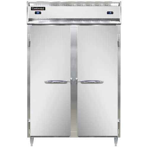 Continental Refrigerator DL2RFS-SS refrigerator freezer, reach-in
