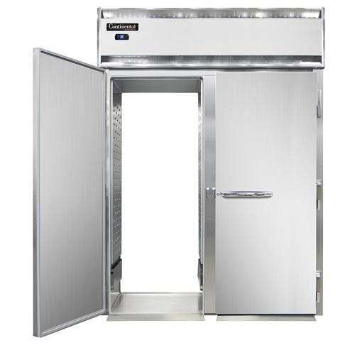Continental Refrigerator D2RINSSRT refrigerator, roll-thru
