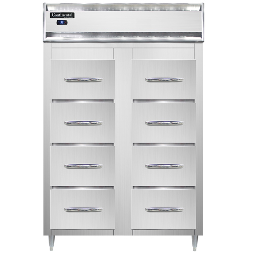 Continental Refrigerator D2RSNSS-F refrigerator, fish / poultry