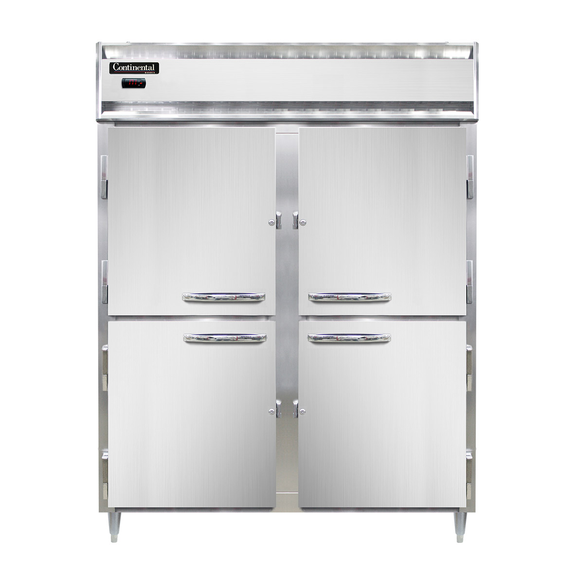 Continental Refrigerator DL2WE-SA-PT-HD heated cabinet, pass-thru