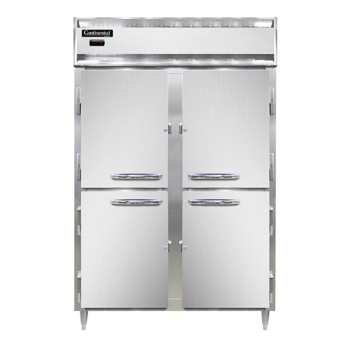 Continental Refrigerator DL2W-SA-HD heated cabinet, reach-in