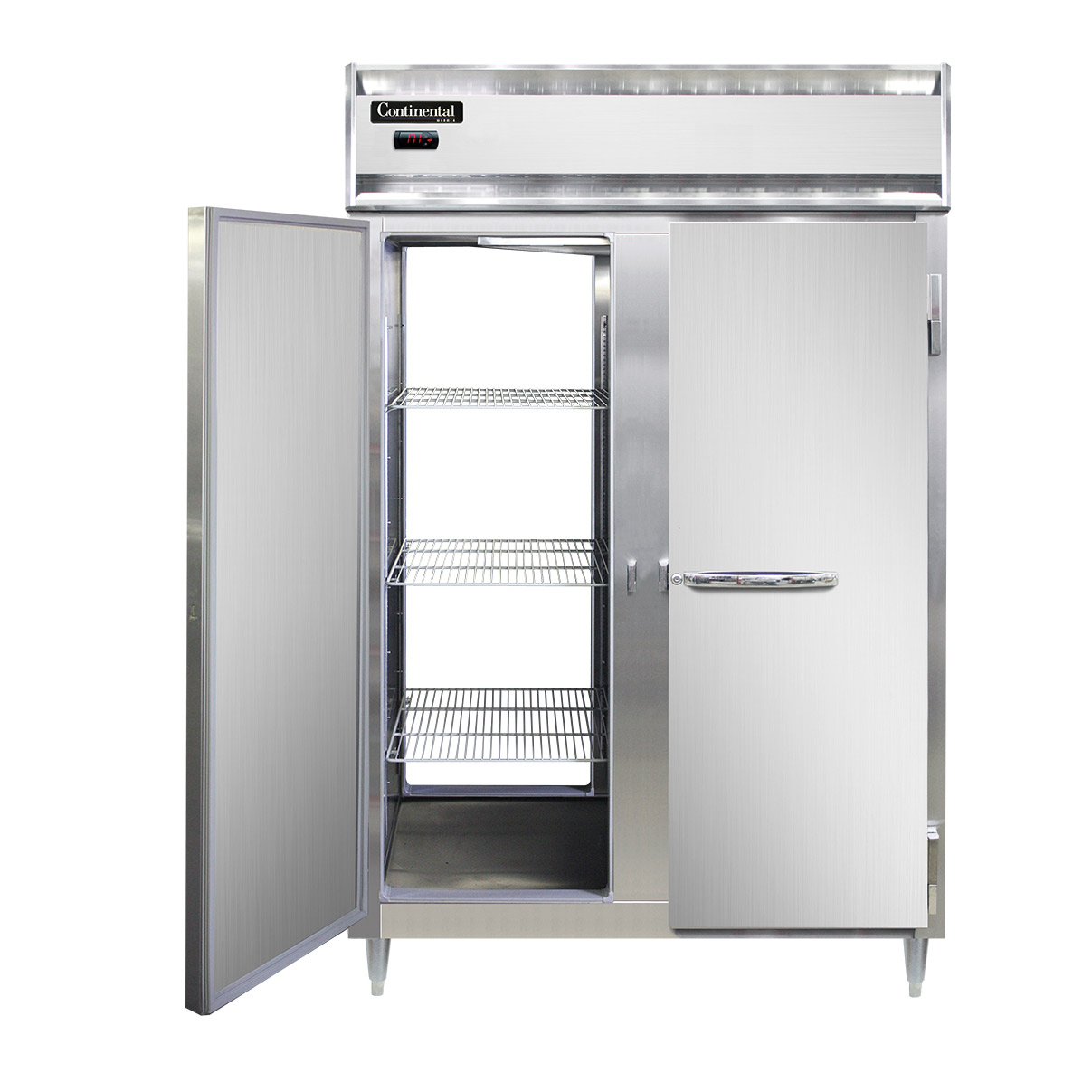 Continental Refrigerator DL2W-SA-PT heated cabinet, pass-thru