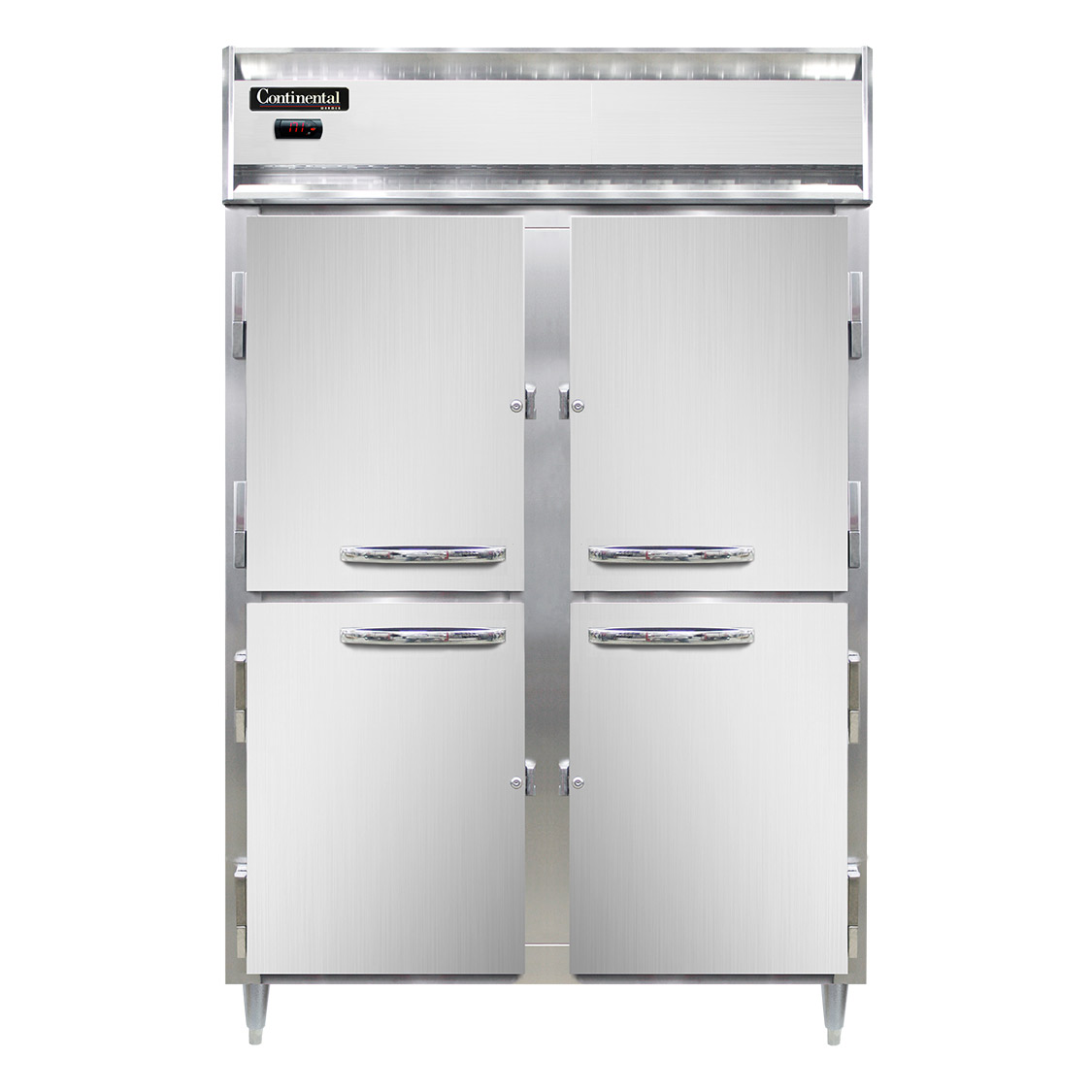Continental Refrigerator DL2W-SS-PT-HD heated cabinet, pass-thru