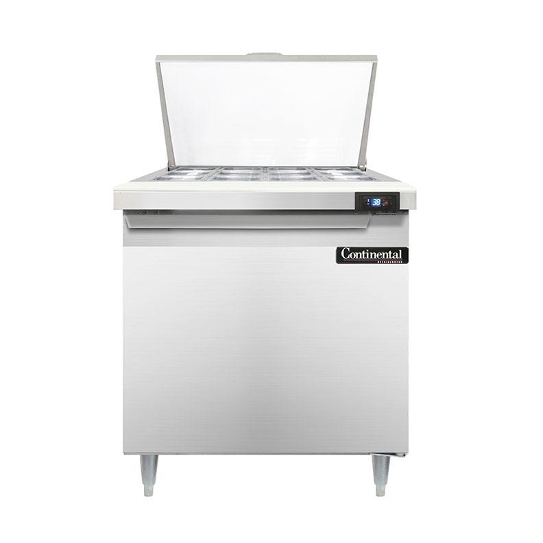 Continental Refrigerator D32N12M refrigerated counter, mega top sandwich / salad unit