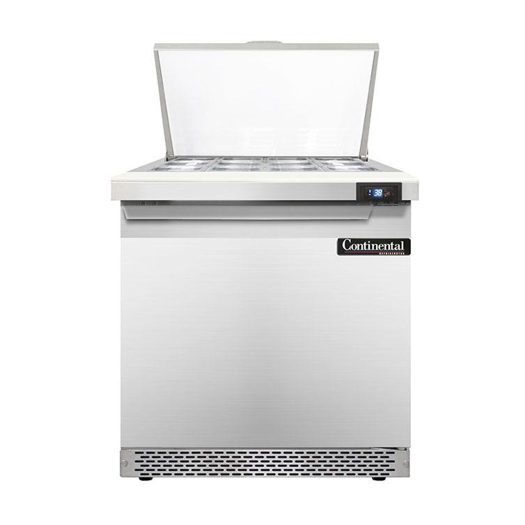 Continental Refrigerator D32N12M-FB refrigerated counter, mega top sandwich / salad unit