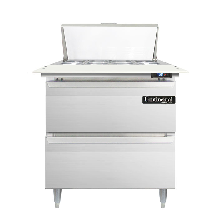 Continental Refrigerator D32N8C-D refrigerated counter, sandwich / salad unit