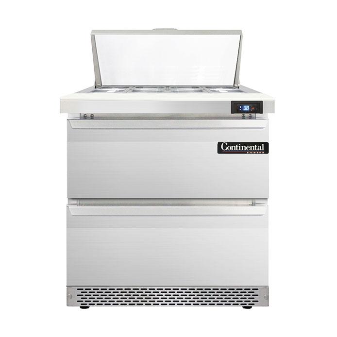 Continental Refrigerator D32N8-FB-D refrigerated counter, sandwich / salad unit