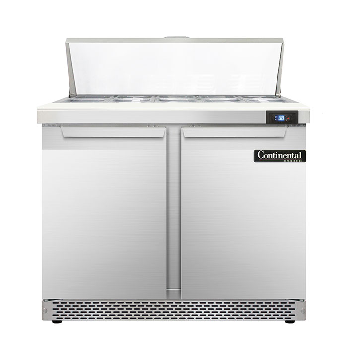 Continental Refrigerator D36N10-FB refrigerated counter, sandwich / salad unit