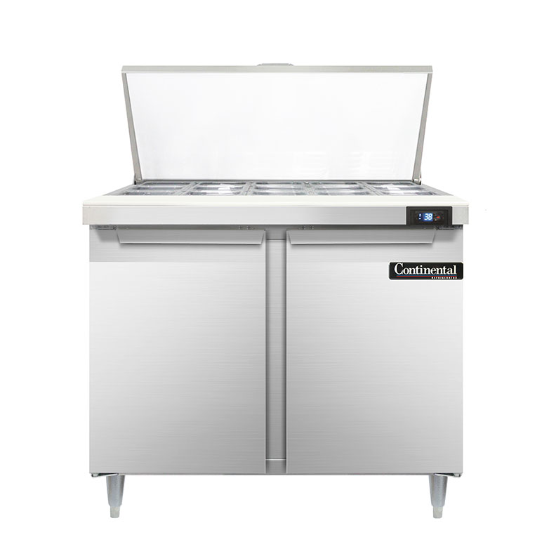 Continental Refrigerator D36N15M refrigerated counter, mega top sandwich / salad unit