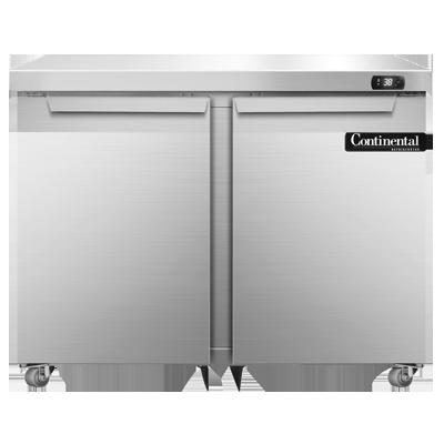 Continental Refrigerator DL36-SS-U refrigerator, undercounter, reach-in