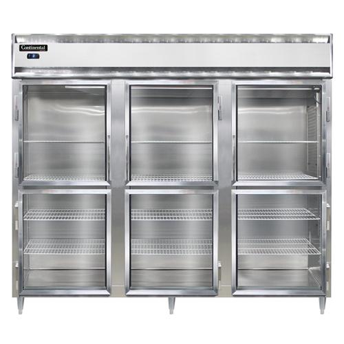 Continental Refrigerator DL3FE-SA-GD-HD freezer, reach-in