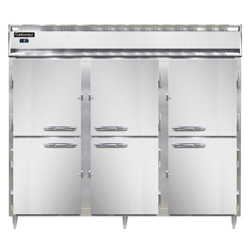 Continental Refrigerator DL3FE-SA-PT-HD freezer, pass-thru