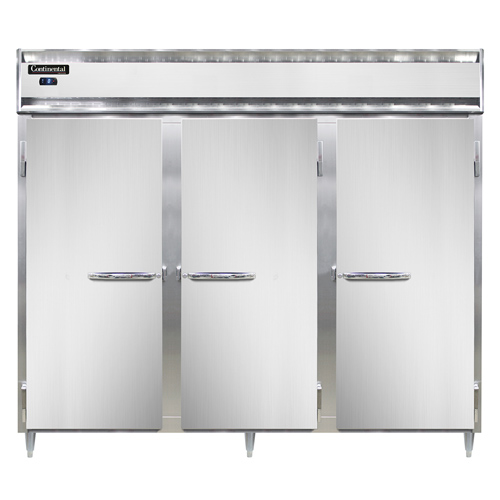 Continental Refrigerator DL3FE-SS freezer, reach-in