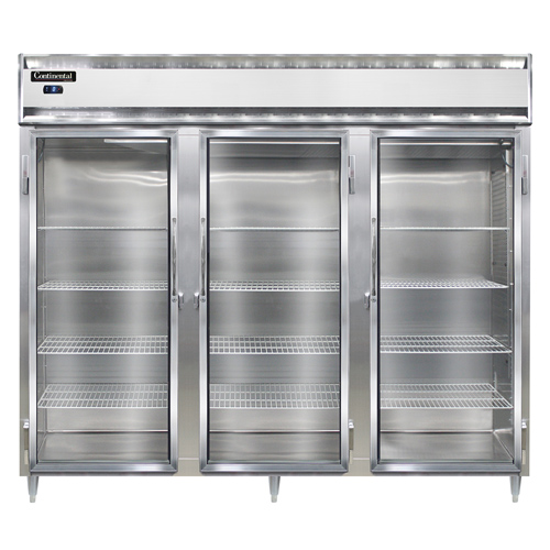 Continental Refrigerator DL3FE-SS-GD freezer, reach-in