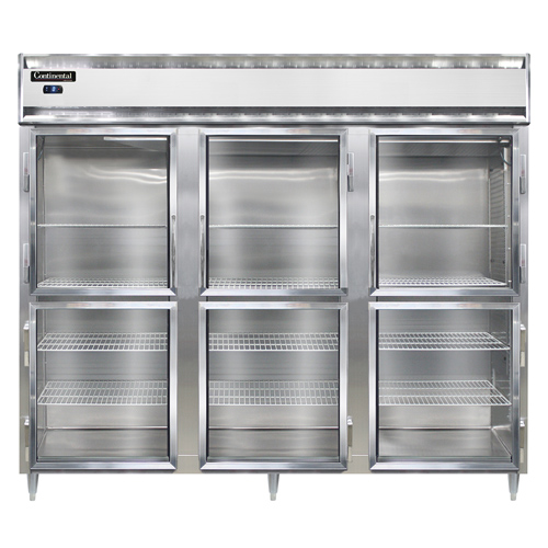 Continental Refrigerator DL3FE-SS-GD-HD freezer, reach-in