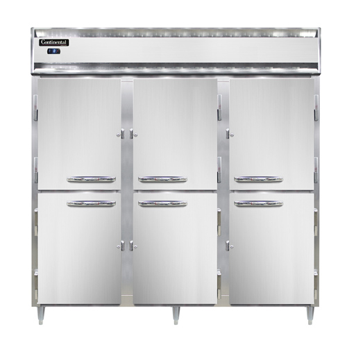 Continental Refrigerator DL3F-SA-HD freezer, reach-in