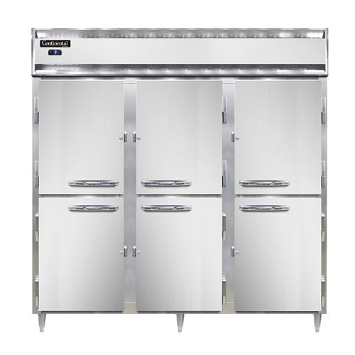 Continental Refrigerator DL3F-SA-PT-HD freezer, pass-thru