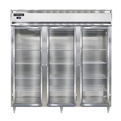 Continental Refrigerator DL3F-SS-GD freezer, reach-in