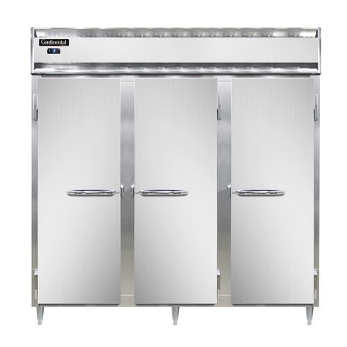 Continental Refrigerator DL3F-SS-PT freezer, pass-thru