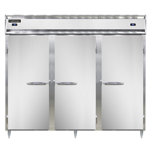 Continental Refrigerator DL3RFFES refrigerator freezer, reach-in