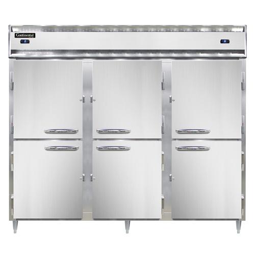 Continental Refrigerator DL3RFF-SA-PT-HD refrigerator freezer, pass-thru