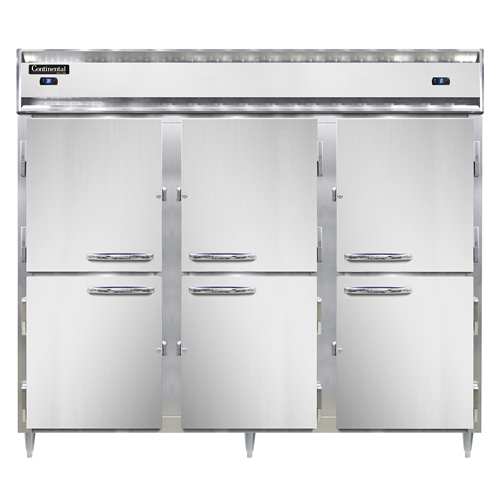 Continental Refrigerator DL3RRFES-SA-HD refrigerator freezer, reach-in