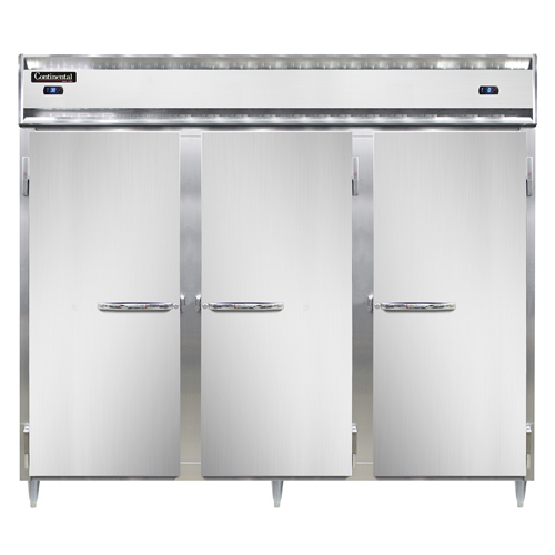 Continental Refrigerator DL3RRFES-SS refrigerator freezer, reach-in