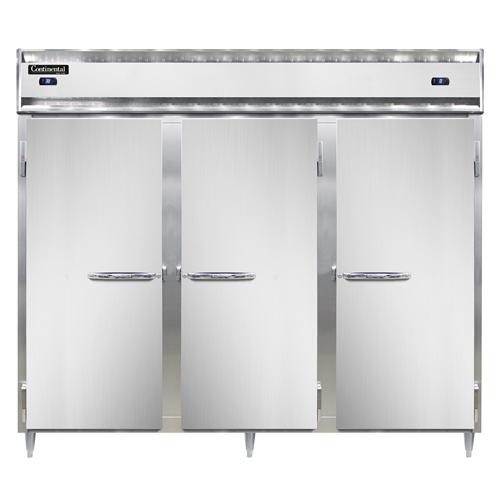 Continental Refrigerator D3RRFESNSS refrigerator freezer, reach-in