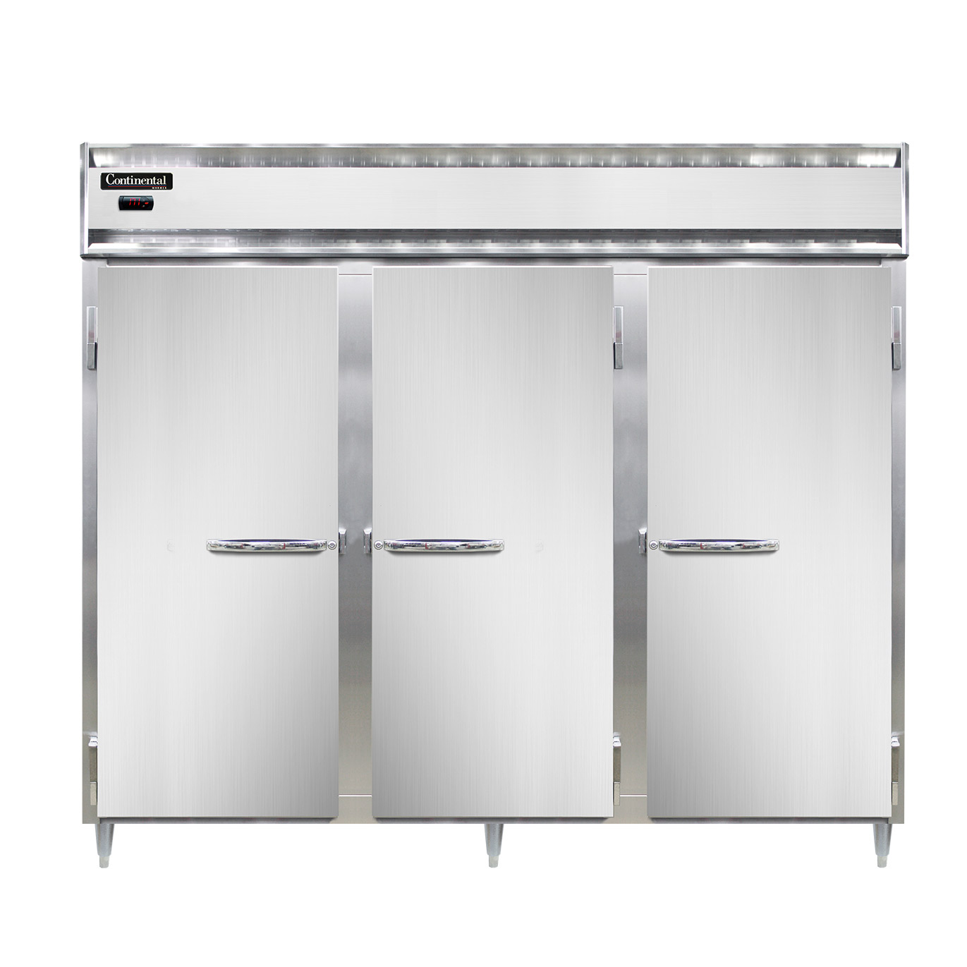 Continental Refrigerator DL3WE heated cabinet, reach-in