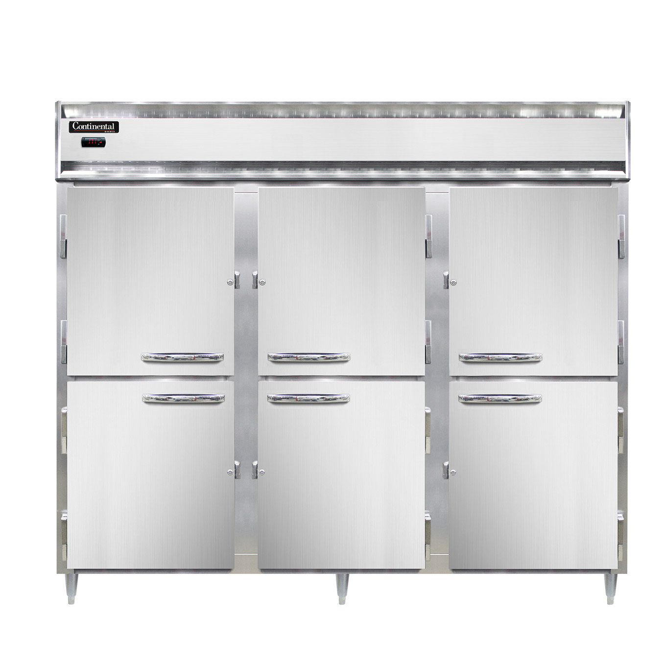 Continental Refrigerator DL3WE-SS-HD heated cabinet, reach-in