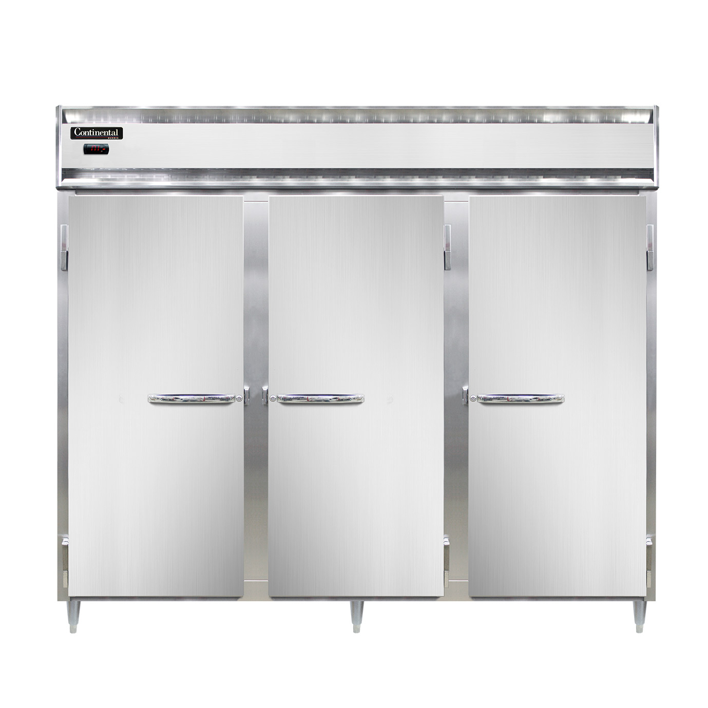 Continental Refrigerator DL3WE-SS-PT heated cabinet, pass-thru