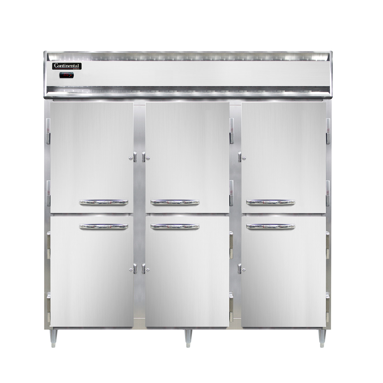 Continental Refrigerator DL3W-SA-HD heated cabinet, reach-in