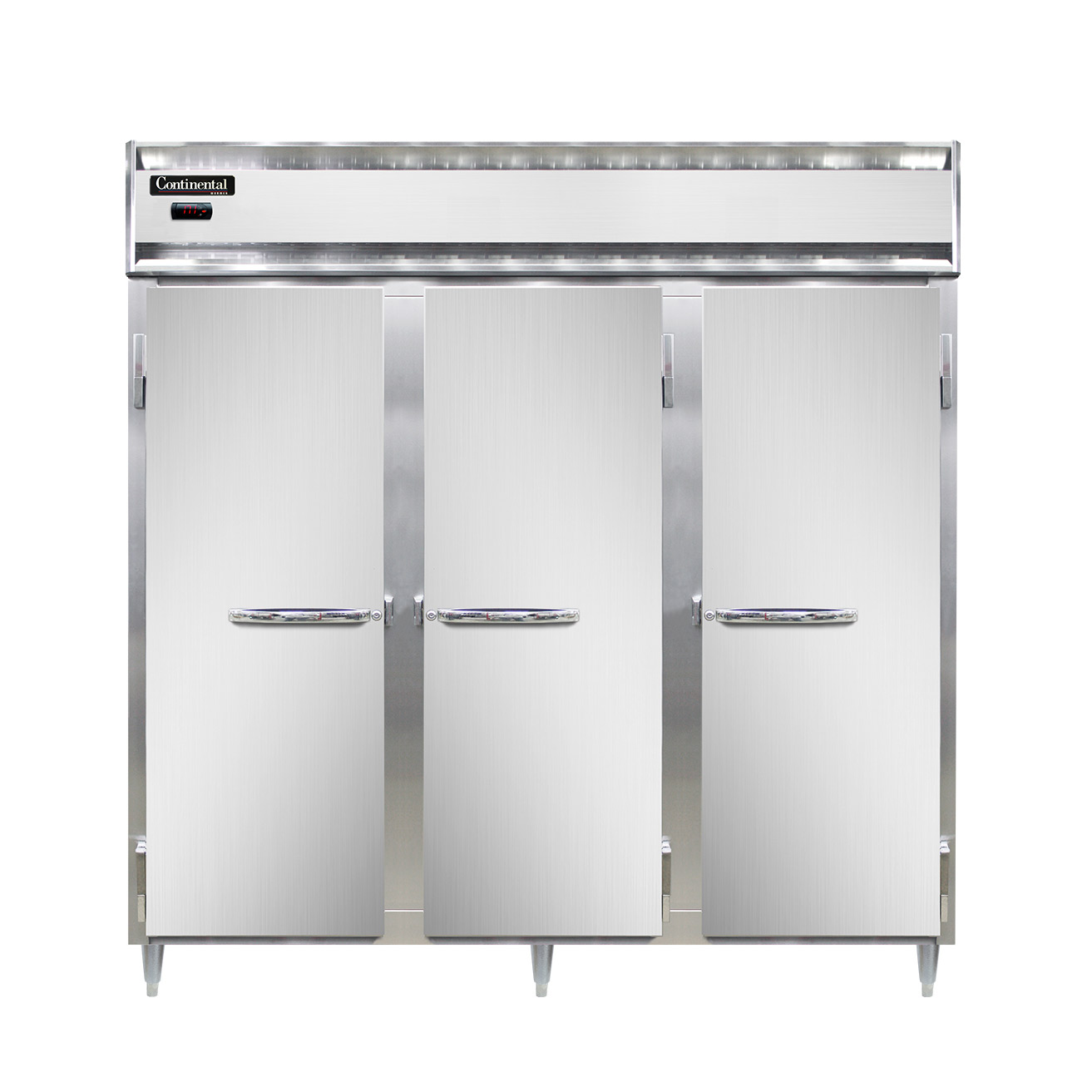 Continental Refrigerator DL3W-SS-PT heated cabinet, pass-thru