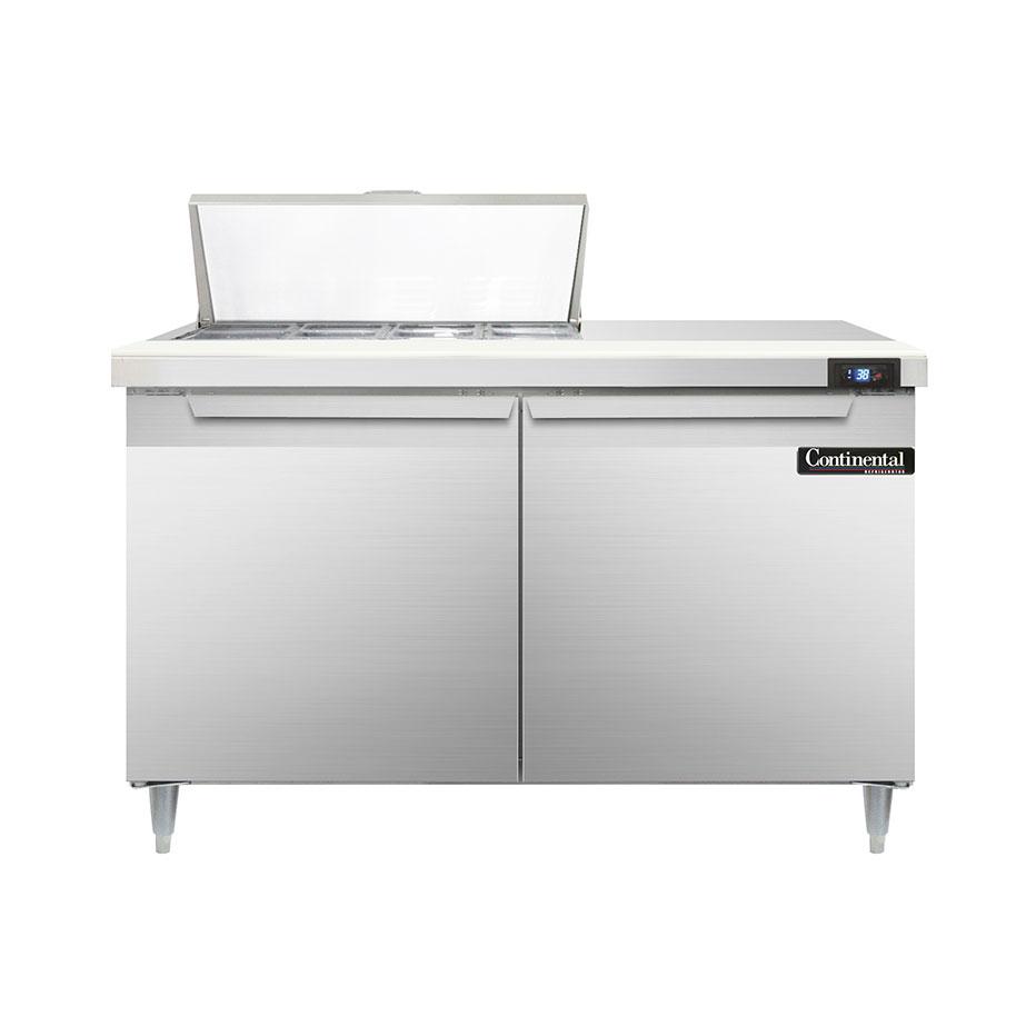 Continental Refrigerator D48N8 refrigerated counter, sandwich / salad unit