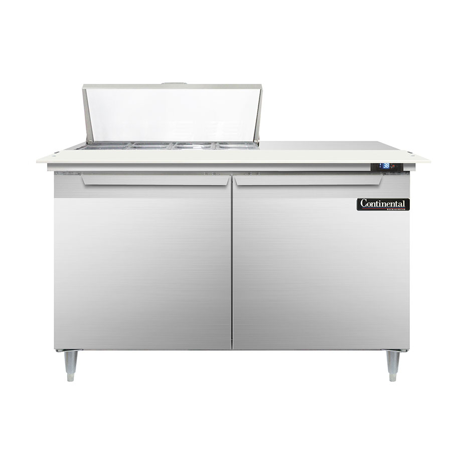 Continental Refrigerator DL48-8C refrigerated counter, sandwich / salad unit