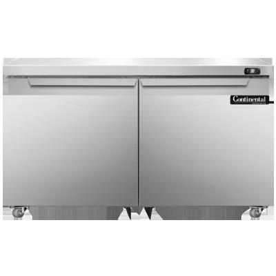 Continental Refrigerator DL48-SS-U refrigerator, undercounter, reach-in